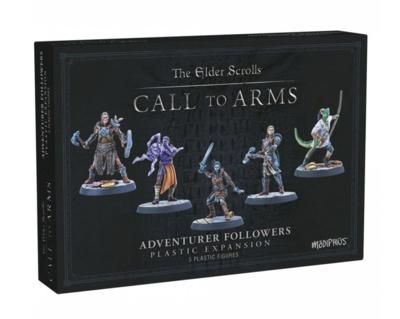 Elder Scrolls: Call to Arms - Adventurer Followers (Resin).