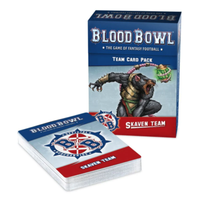 BLOOD BOWL: SKAVEN TEAM CARD PACK.