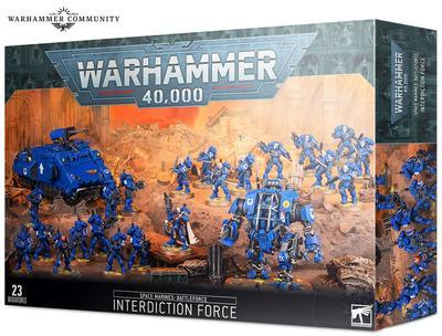 SPACE MARINES: INTERDICTION FORCE. - 1