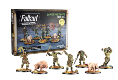 Fallout: WW Super Mutants Core Box - 1