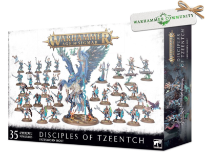 DISCIPLES OF TZEENTCH: FATESWORN HOST