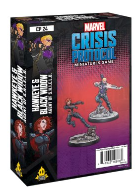 Marvel Crisis Protocol: Hawkeye and Black Widow - EN
