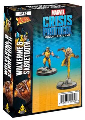 Marvel Crisis Protocol: Wolverine and Sabertooth - EN