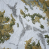 Elder Scrolls - 3x3 Double Sided mat Ruins Wilderness - 1/2