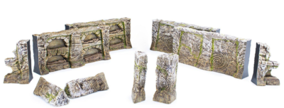 Elder Scrolls: Call to Arms Nord Tomb Scatter Terrain