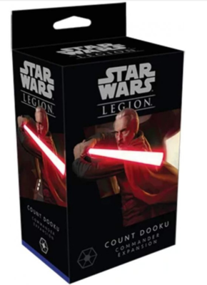 Star Wars Legion: Count Dooku Commander Expansion