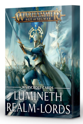 WARSCROLLS: LUMINETH REALM-LORDS (ENG)