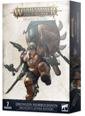 BROKEN REALMS: DRONGON'S AETHER-RUNNERS