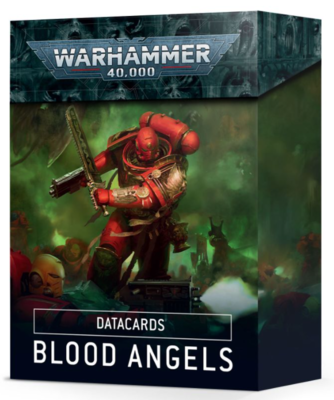 DATACARDS: 9th BLOOD ANGELS