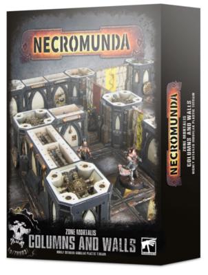 NECROMUNDA:ZONE MORTALIS: COLUMNS AND WALLS