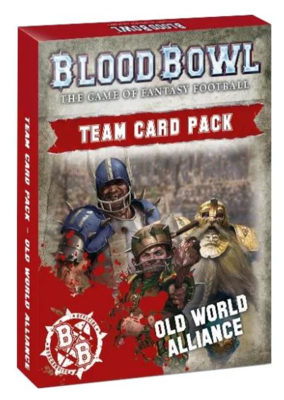 BLOOD BOWL: OLD WORLD ALLIANCE TEAM CARDS ENG