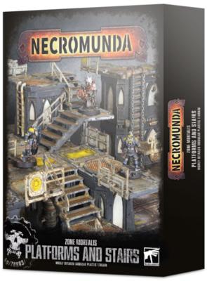 NECROMUNDA:ZONE MORTALIS: PLATFORMS AND STAIRS