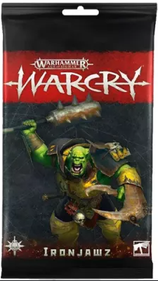 WARCRY: IRONJAWZ CARD PACK