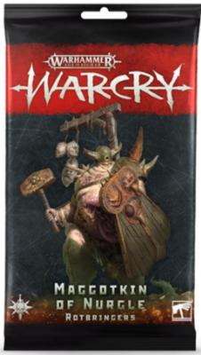WARCRY: NURGLE ROTBRINGERS CARDS