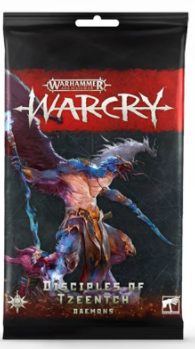 WARCRY: Disciples of Tzeentch Cards