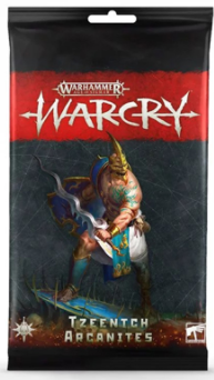 WARCRY: TZEENTCH ARCANITES CARDS