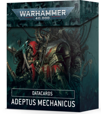 DATACARDS: ADEPTUS MECHANICUS (ENGLISH)