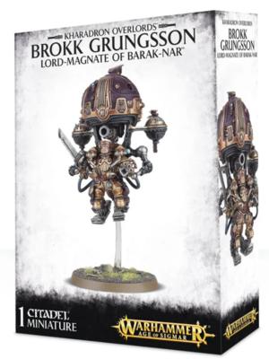 BROKK GRUNGSSON LORD-MAGNATE BARAK-NAR