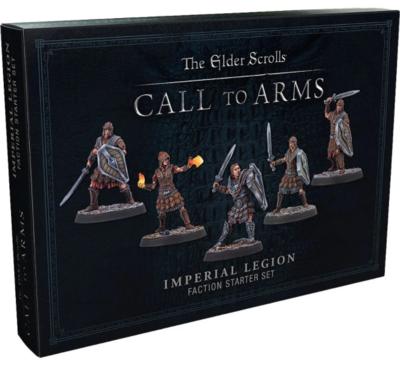 Elder Scrolls: Call to Arms Imperial Legion Set Resin