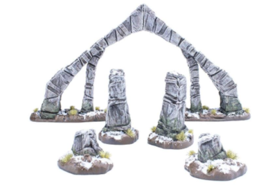 Elder Scrolls: Call to Arms - Nord Tomb Arches Terrain set