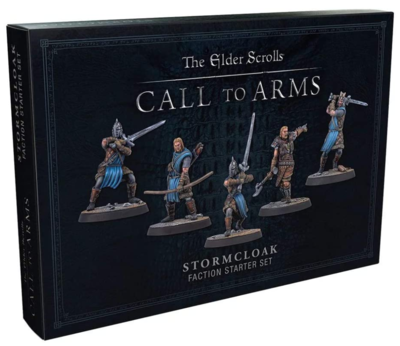 Elder Scrolls: Call to Arms - Stormcloak set Resin