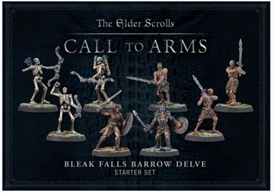 Elder Scrolls: Call to Arms - Bleak Falls Barrow Resin