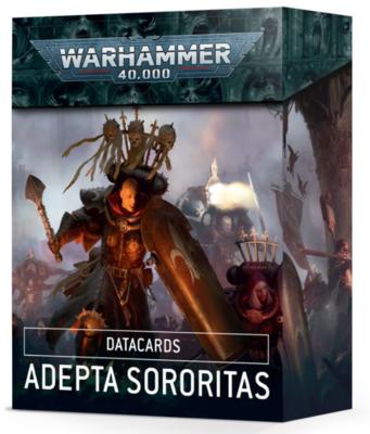 DATACARDS: ADEPTA SORORITAS (ENGLISH)
