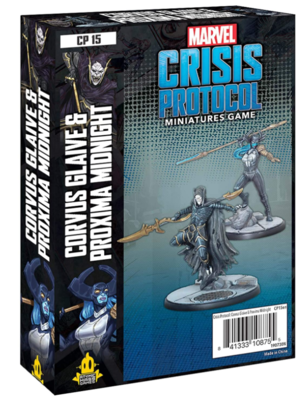 Marvel Crisis Protocol: Corvus Glaive and Proxima Midnight - EN
