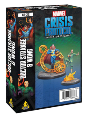 Marvel Crisis Protocol: Dr. Strange & Wong - EN