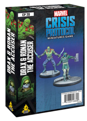 Marvel Crisis Protocol: Drax and Ronan The Accuser - EN