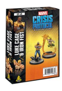Marvel Crisis Protocol: Luke Cage & Iron Fist - EN