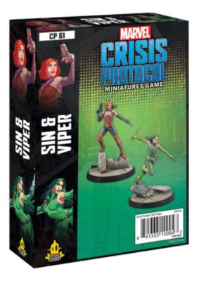 Marvel Crisis Protocol: Sin & Viper Character Pack - EN