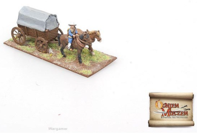 By Fire and Sword: Transport wagons western type