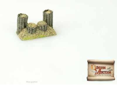 By Fire and Sword: Light cannon emplacement