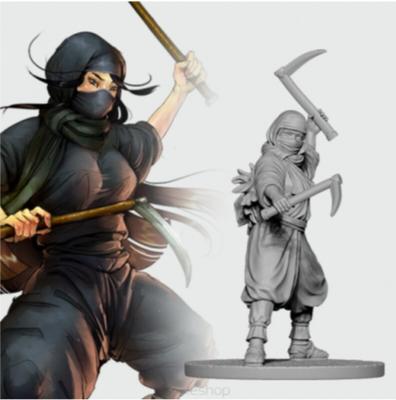 Fujiko, the Ninja (28 mm)