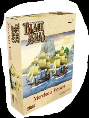 Black Seas: Merchant Vessels - EN