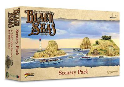 Black Seas: scenery pack - EN
