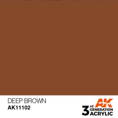 Deep Brown 17ml