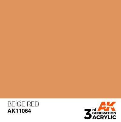 Beige Red 17ml