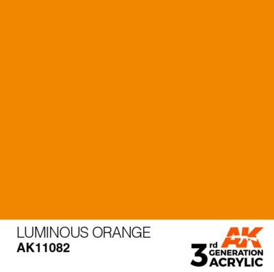 Luminous Orange 17ml