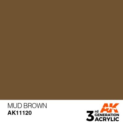 Mud Brown 17ml