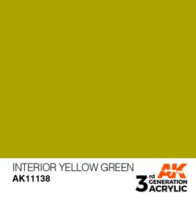 Interior Yellow Green 17ml