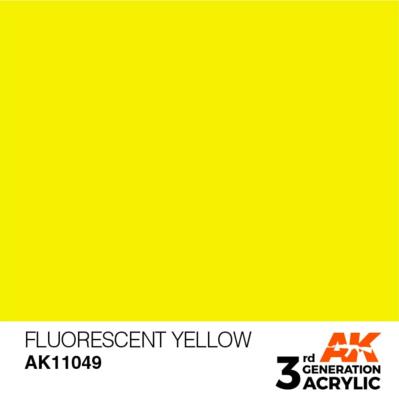 Fluorescent Yellow 17ml
