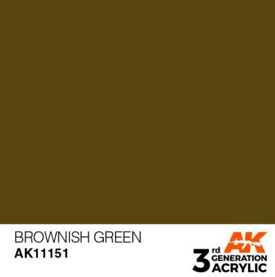 Brownish Green 17ml