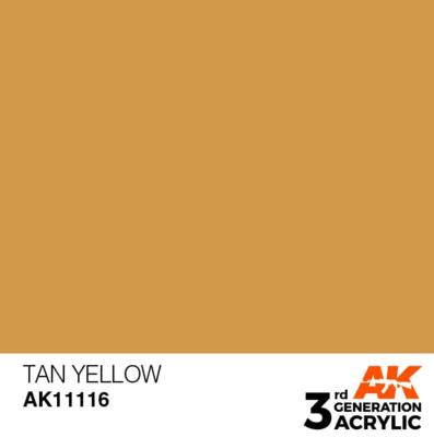 Tan Yellow 17ml