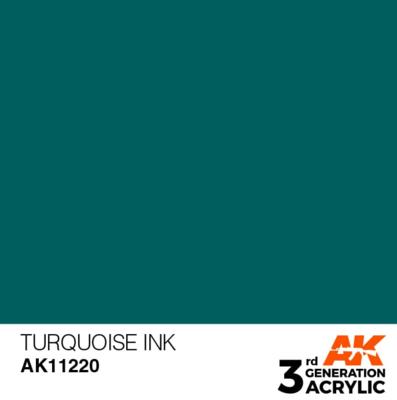 Turquoise INK 17ml