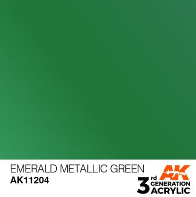 Emerald Metallic Green 17ml
