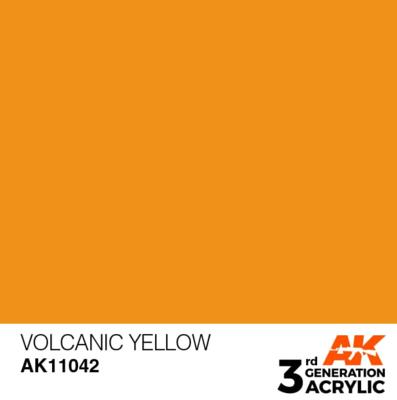 Volcanic Yellow 17ml