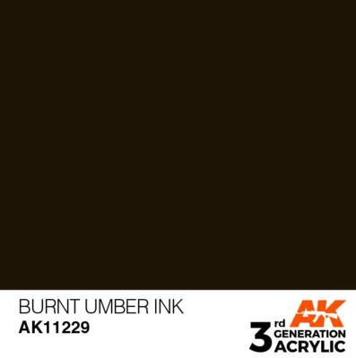 Burnt Umber INK 17 ml