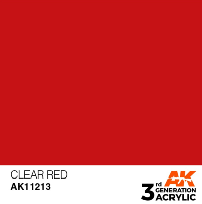 Clear Red 17ml